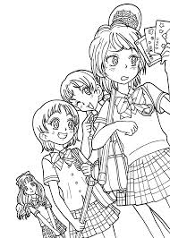 Small Picture Printable 43 Anime Coloring Pages 8779 Free Coloring Book Anime
