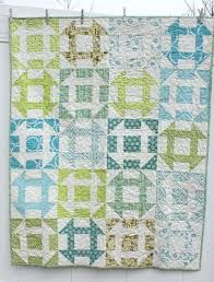 How to Make a Churn-Dash Quilt, Part 1 | WeAllSew & Churn Dash Quilt - turquoise and blue Adamdwight.com