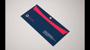 How To Make Envelope Professional Envelope Design In Adobe Illustrator