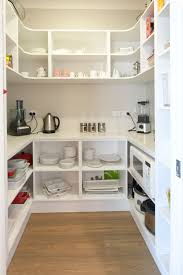 Walk In Corner Pantry Designs A Walk In Pantry Is A Great Storage Saver But Also Has A