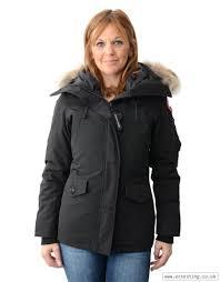 Carries New Canada Goose Montebello Parka Jacket Black L48p3889 outlet  online