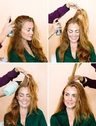 How To Change Hair Style how to change your entire look just by moving your part camille 5856 by wearticles.com