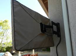 outdoor tv covers in sunbrella or weathermax80 fabrics add an embroidered monogram graphic design logo to your tv cover designed for outdoor patios and