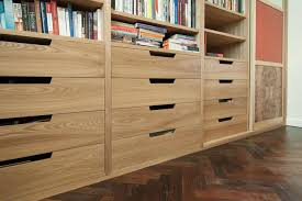 home office storage units. Storage And Shelving Unit With Drawers In Elm - Part View 1 Home Office Units R