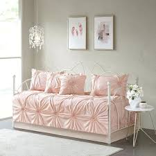 6 piece daybed set pink bedding and white house of daybed bedding mattress covers for daybeds pink