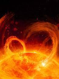 A Powerful Solar Flare Produces Bright ...