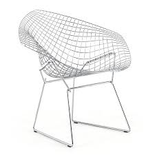 knoll international diamond chair by harry bertoia