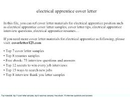 Apprenticeship Cover Letter No Experience Sample Dailyvitamint Com