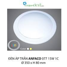 Đèn ốp trần led ANFACO 1 chế độ AFC 077 15W 1C