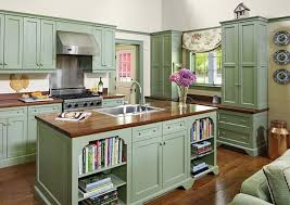 kitchens with painted cabinetsAdd a touch of vintage charm to your kitchen with painted cabinets