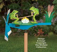 Whirligig Patterns Inspiration Wind Action Project Patterns Teetering Frogs Whirligig Pattern