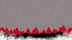 Abstract Modern Winter Holidays Background