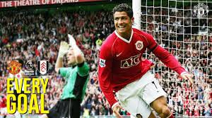 Every Premier League Goal | Manchester United v Fulham F.C. | RVP, Ronaldo,  Beckham & More! - YouTube