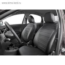 <b>Авточехлы Rival Строчка</b> (спинка 40/20/40) для сидений Skoda ...