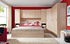 Wooden Bedroom Storage Ideas With Brown Rugs