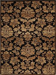 area rugs 8x10 under 100 2 damask brown gold area rug carpet actual 7 8