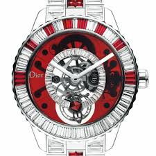 dior men s chiffre rouge automatic watch d01 this one of a kind watch is really interesting this is the new dior christal tourbillon diamonds