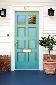 blue front doorWhat Does Your Front Door Color Say About You  Southern Living