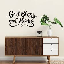 bless our home decal home wall decor bless wall decal scheme of wizard of oz