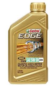 castrol 06037 edge gold 5w 30 synthetic motor oil 1 quart api sl