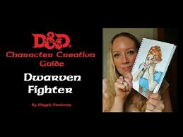 d and d online character sheet d d 5e character sheet tutorial dwarf fighter youtube