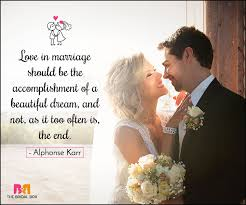 Beautiful Quotes About Love And Marriage Best Of 24 Love Marriage Quotes To Make Your DDay Special