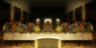 2213x1122 image exposed in da vinci s the last supper painting last supper painting
