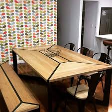 metal and wood furniture. Contemporary Furniture Metal And Wood F