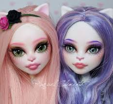 Cat Hair Style mh catrine monsterhigh catrine faceup faceups cust flickr 8837 by wearticles.com