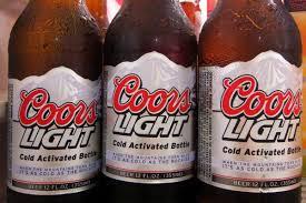 Coors Light Bud Light Bottle Battle Of Boc Bud Light Vs Coors Light Battle Of