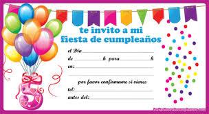 tarjetas de cumplea os para ni as ideas de invitaciones y recuerdos para cumpleaños