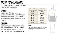 Carhartt Size Chart Mens Carhartt 102703 Rough Cut Jacket Dungarees