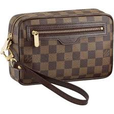 louis vuitton bags outlet. men louis vuitton damier ebene canvas macao clutch brown n61739 bags outlet