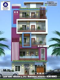3d Home Design Software List Top Indian 3d Front Elevation Modern Home Design 4 Bhk 2