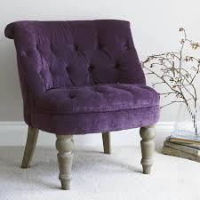 Oak Bedroom Chair Purple Velvet Bedroom Chair By Primrose Plum