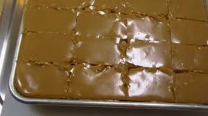 Peanut Butter Sheet Cake Recipe Noreens Kitchen Youtube