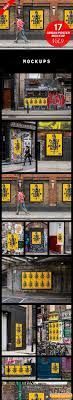 Urban Poster Mock Up Vol 9 Free Download Free Graphic Templates
