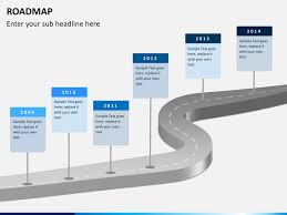 road map powerpoint template free roadmap powerpoint template sketchbubble