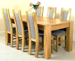 full size of solid oak round extending dining table and 6 chairs used room furniture set