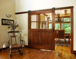 amish custom sliding glass door with a panel bottom gives this home owner options how to use this space