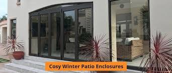 cosy winter patio enclosures sequ door sa