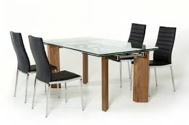 vig helena extendable glass dining table available in dallas fort worth texas