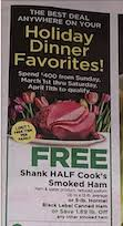 The shoprite from home grocery delivery service is free when you spend $100 or more. Free Ham For Easter At Shoprite Starting 3 1 Twin Mom Stockpile