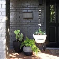 Painted brick exterior Brick Ranch Becki Owens Pros And Cons Painted Brick Exteriorsbecki Owens