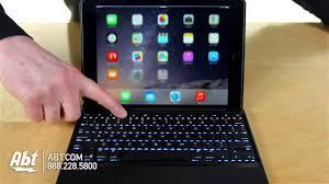 Ipad Lighted Keyboard Case Zagg Folio Backlit Ipad Air 2 Keyboard Case Id6zfkbb0 Overview
