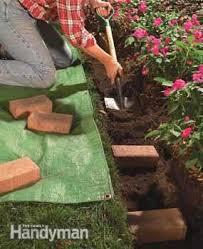 garden borders and edging. Photo 2: Dig A Wide Trench Garden Borders And Edging