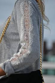 <b>lace</b> sleeve | <b>Clothes</b>, Diy <b>fashion</b>, Diy <b>clothes</b>