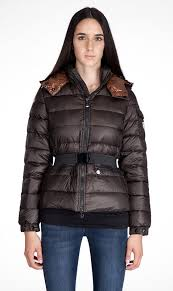 Cheap Moncler Jacket Moncler Bea Down Jacket Women Decorative Belt Coffee, moncler outlet italy,moncler puffer jacket,attractive design