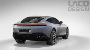 2021 Ferrari Purosangue Rendered As The Roma Suv