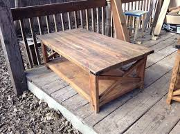 2016 most view ideas rustic end tables and coffee tables fish com